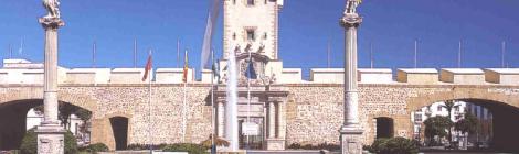 Visitar las Puertas de Tierra en Cadiz