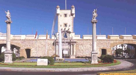 Visitar el Torreon y el Paseo de las Murallas de Puerta Tierra en Cadiz