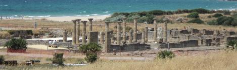 Descubrimiento de un Mausoleo cristiano en Baelo Claudia, Tarifa