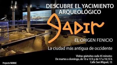 Yacimiento arqueológico fenicio Gadir