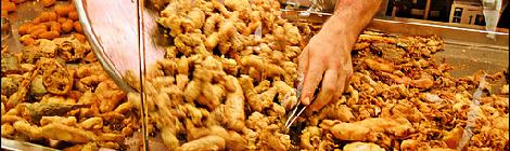Pescaito frito, plato tipico de Cadiz