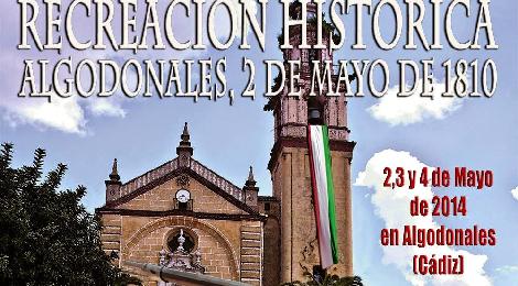 Recreacion historica del 2 de mayo de 1810