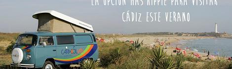 Caracolvan, visitar Cadiz en furgoneta rollo hippie este verano