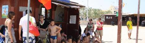 Biblioplaya de Sanlucar de Barrameda, cultura en las playas de Cadiz
