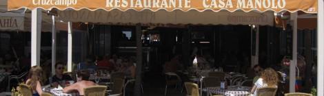 Restaurante Casa Manolo, comer barato en Conil de la Frontera