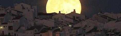 Superluna en Cadiz 2016