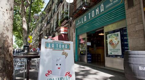 """Restaurante """"La Toná"""", comida andaluza y pescaito frito en el centro de Madrid"""