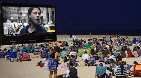 Cine de verano Playa Victoria Cadiz 2015