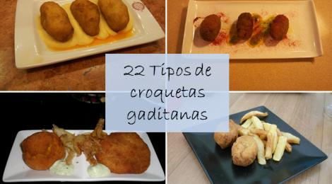 Donde comer las mejores croquetas de Cadiz: 22 tipos de croquetas gaditanas