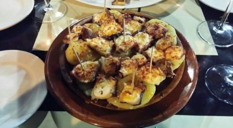 La Taberna del Sapo: Comer pulpo en Cadiz