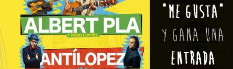 Sorteo de dos entradas para el Concierto de Albert Pla, Antilopez y La Suite Bizarre