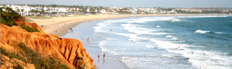 Playa de la Barrosa, mejor playa de Andalucia 2014