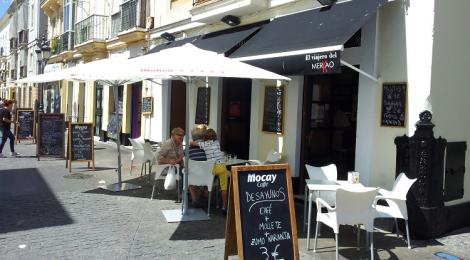 El viajero del Merkao, comer diferente en el centro de Cadiz