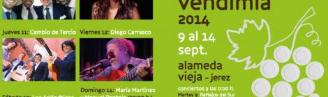 Conciertos de la Vendimia 2014: Alba Molina, los Aslándticos y Diego Carrasco