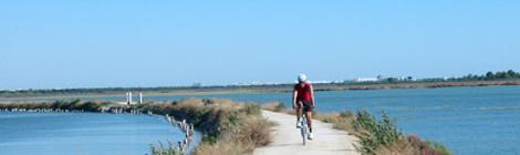 Carril bici que unira Chiclana, San Fernando y Cadiz