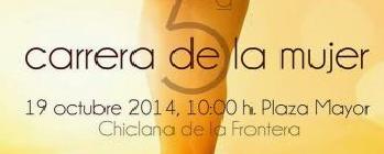 V Carrera de la Mujer de Chiclana de la Frontera 2014: Inscripcion y Horario