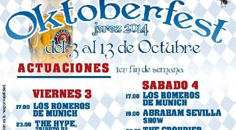 Oktoberfest - II Feria de la Cerveza de Jerez de la Frontera 2014
