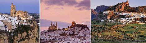 Tres pueblos de la Sierra de Cadiz entre los 50 más bonitos de España