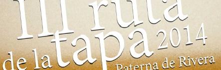 III Ruta de la Tapa de Paterna de Rivera