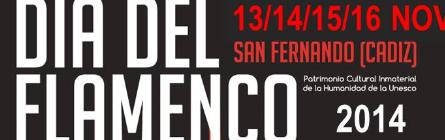Jornadas Día del Flamenco 2014 en San Fernando: Programacion y Horarios