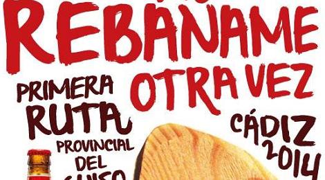 """Ruta provincial del Guiso """"Rebáñame otra vez"""": Cadiz, Jerez, El Puerto y Sanlúcar"""