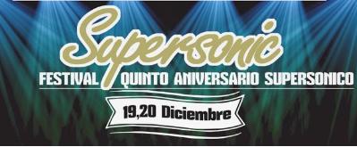 Conciertos Aniversario Sala Supersonic Cádiz 2014: Quinto Aniversario Supersonico