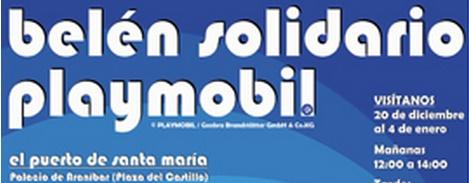 II Belén solidario Playmobil del Puerto de Santa María 2014