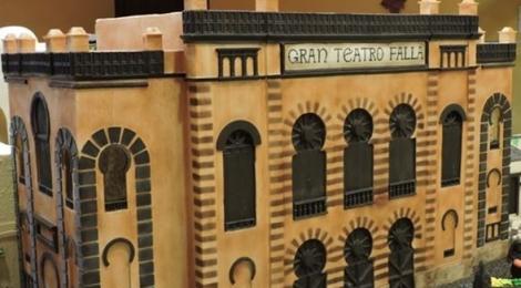 Belén Chocolate de Rute 2014: Cadiz con el Teatro Falla y Jerez con la Plaza Asuncion