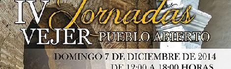 IV Jornadas Vejer Pueblo Abierto y IV Ruta de la Tapa 2014 de Vejer