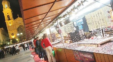 Mercado navideño de artesanía en la Plaza de San Antonio 2016: Fechas y Horarios