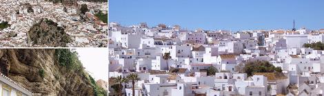 Los 25 pueblos más bonitos de España: Vejer, Olvera y Setenil de las Bodegas