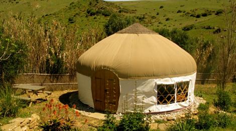 Yurts Tarifa, glamping en Cadiz