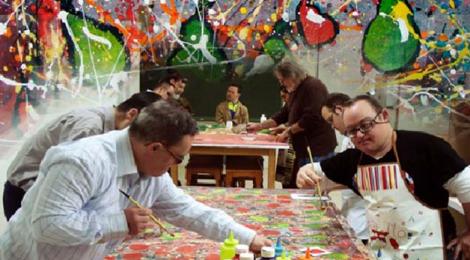 La Cadena Fuerte Hoteles Decora un Hotel con Pinturas de Artistas Down de Jerez