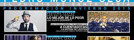 Programacion Invierno 2015 Teatro Pedro Muñoz Seca del Puerto de Santa María