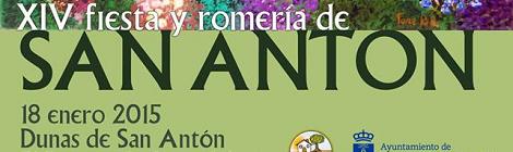 XXIV Fiesta y Romería de San Antón 2015 en el Puerto de Santa María: Horario