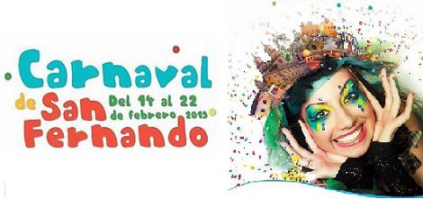 Gala del Carnaval de San Fernando 2015: Actuaciones y Recorrido de la Cabalgata