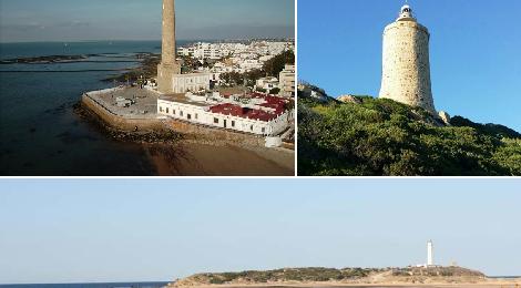 3 Faros de Cádiz en el Ranking de los Faros más bonitos de España 2015