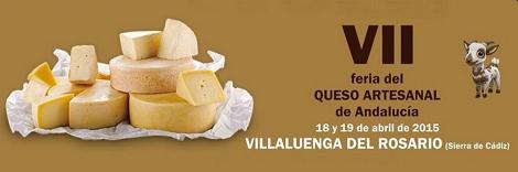 VII Feria del Queso de Villaluenga del Rosario 2015: Quesos Andaluces