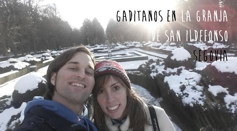 Gaditanos en Segovia, La Granja de San Ildefonso #GaditanosFueraDeCadiz