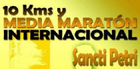 10 Kms y Media Maratón Internacional Sancti Petri, Chiclana 2015