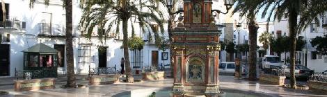 La Plaza España de Vejer entre las 11 Plazas con más encanto de España 2015