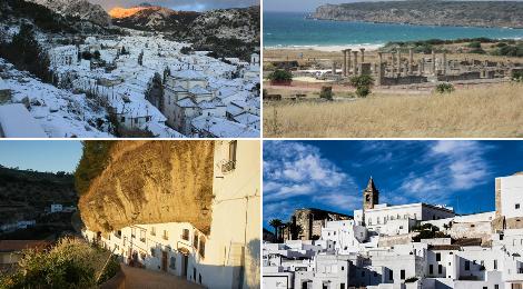 La Provincia de Cádiz entre los 10 Rincones únicos por descubrir en Andalucía