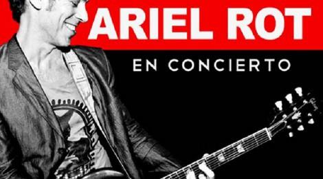 Concierto de Ariel Rot en Cádiz 2015