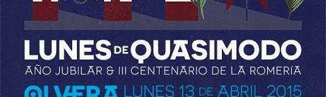 III Centenario Lunes de Quasimodo Olvera 2015: Programación y Actos