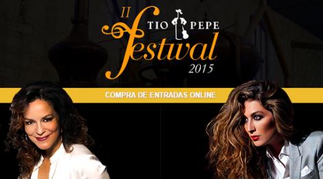 II Tío Pepe Festival 2015: Conciertos de Nancy Fabiola Herrera y Estrella Morente
