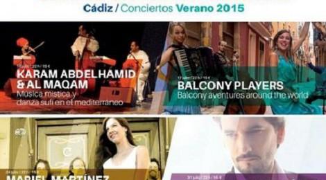 Conciertos Castillo Santa Catalina Cádiz 2015: Programación y Entradas