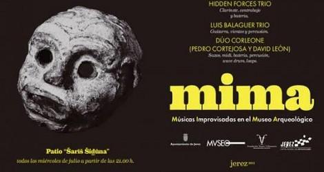 I Festival de Músicas Improvisadas en el Museo Arquelógico, MIMA Jerez 2015