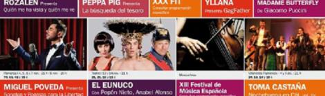 Programación Otoño Teatro Falla de Cádiz 2015: Miguel Poveda, Niña Pastori y Rozalén