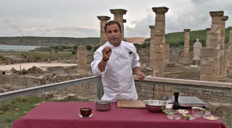 Ángel León en Baelo Claudia, Bolonia. El Chef del Mar en TVE
