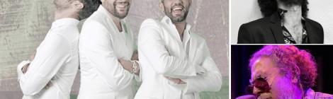Concierto Baluarte de la Candelaria 2015: Diego Carrasco, Lin Cortés y Mushogitano